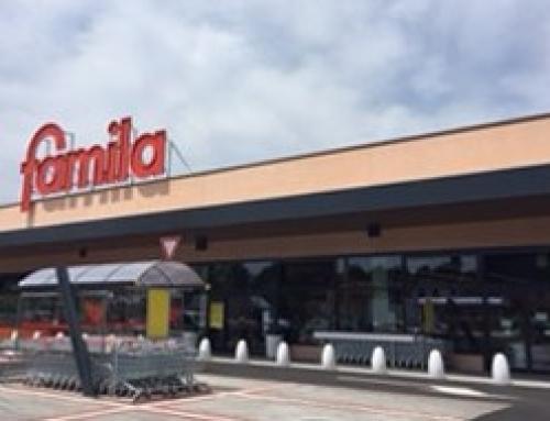 """Apre oggi un nuovo supermercato """"Famila"""" a Teolo, Padova"""