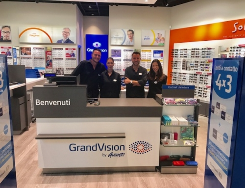 Nuova apertura Grandvision in Puglia, nel Centro Commerciale Auchan di Mesagne in Provincia di Brindisi