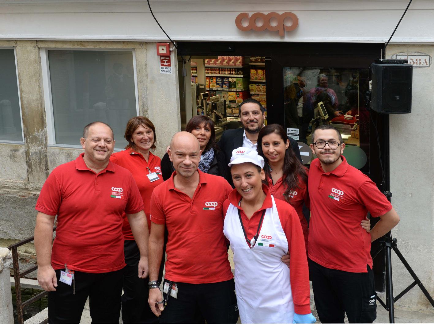 Venezia, 05/10/17 - inaugurazione dei restauri del negozio COOP Alleanza 3.0 di San Polo  ©Marco Sabadin/Vision