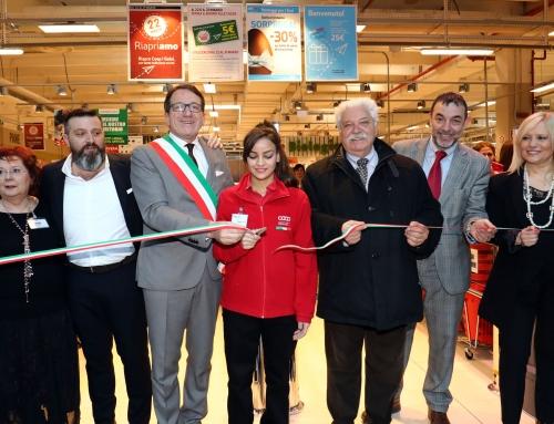 Ha inaugurato oggi la Coop i Gelsi di Modena completamente rinnovata