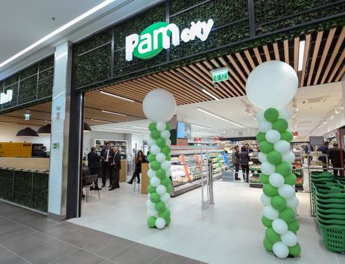 Pam city: la nuova generazione del negozio di prossimità urbana presentata per la prima volta nel nuovo centro commerciale della Capitale