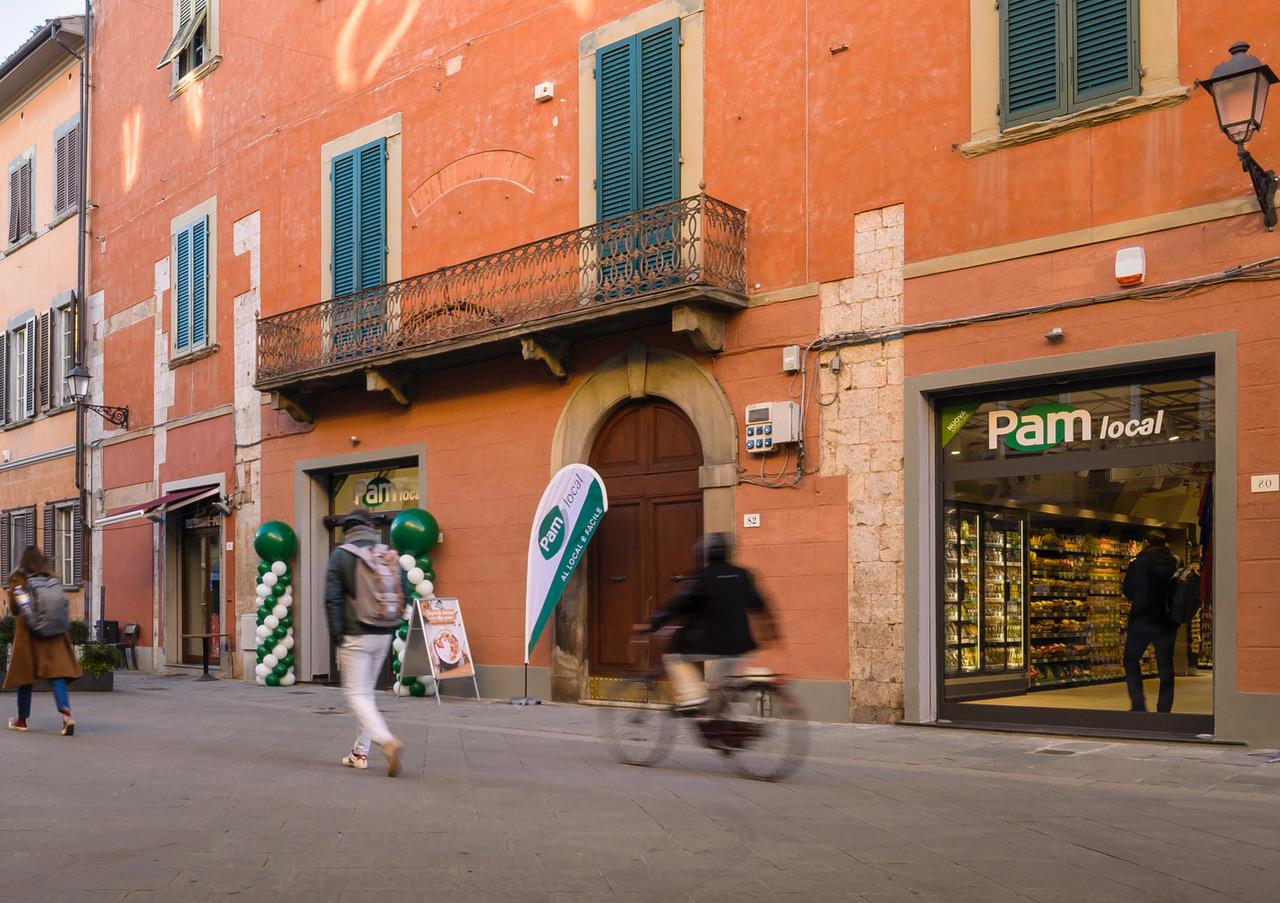Pam local Pisa